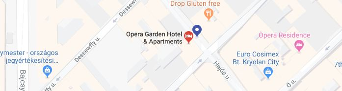 Opera Garden Hotel & Apartments location